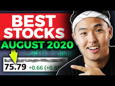 Best 4 Stocks I'm Buying Now! August 2020 (GROWTH STOCKS)