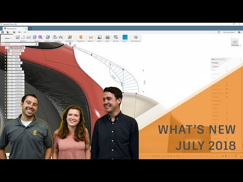 What's New in Fusion 360 July 2018 Update
