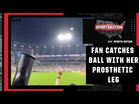 Cheers and Jeers: White Sox fan catches a fly ball with her prosthetic leg   SportsNation