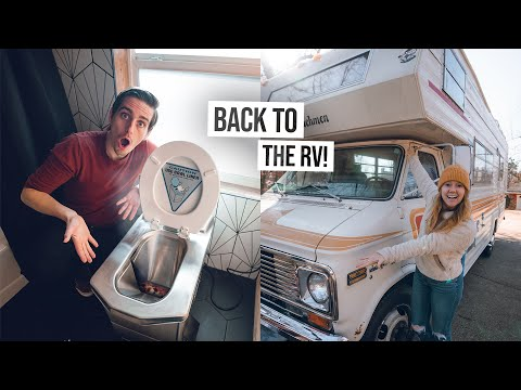 We Tested an INCINERATOR TOILET!? - Plus RV Renovation Progress UPDATE!