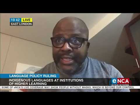 Discussion   Unisa has until 2023 to reinstate Afrikaans