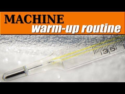 Tormach CNC Machine Warm-Up Routine! WW182