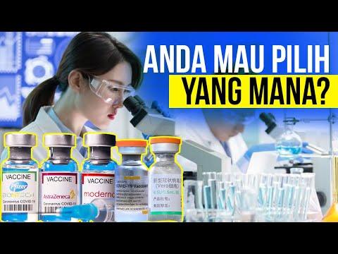 Ini Perbandingan Vaksin Pfizer, Sinovac, Moderna, Sinopharm, dan AstraZeneca
