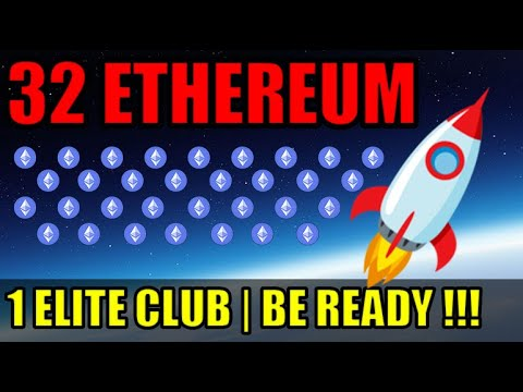 32 Ethereum Will Put You In An ELITE CRYPTOCURRENCY CLASS | Is Ethereum A Good Investment?