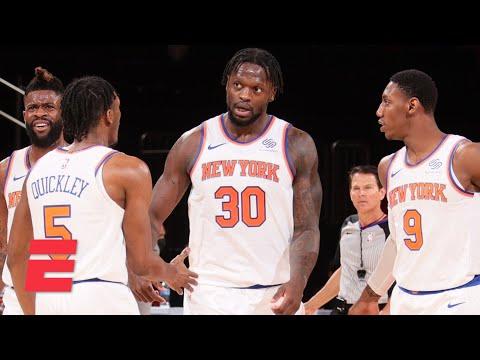 Knicks fan Jerry Ferrara talks New York notching 8…