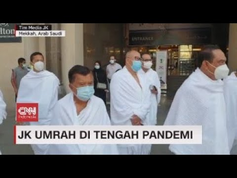 Jusuf Kalla Umrah di Tengah Pandemi