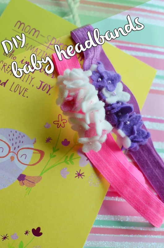 baby headband DIY with American Greetings #shop