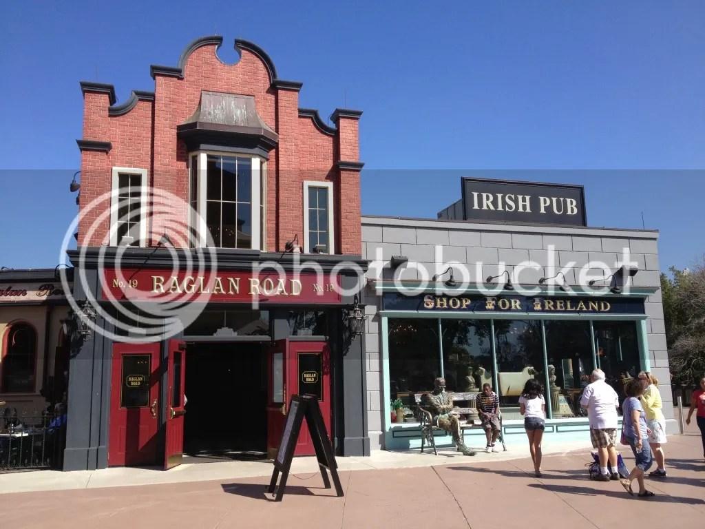 Raglan Road Irish Pub and Restaurant - Lake Buena Vista, FL - Photo by Mike Bonfanti