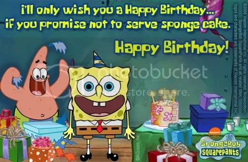 spongebob birthday Pictures, Images and Photos