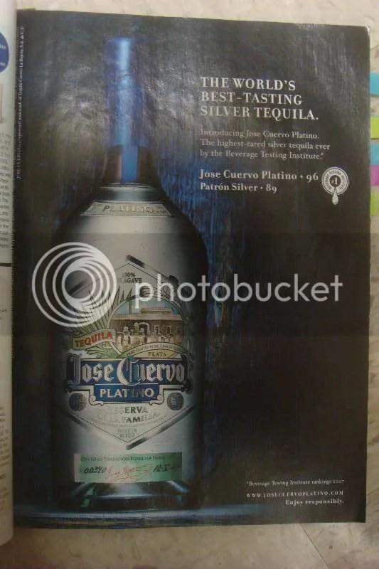 Jose Cuervo Tequila Ad