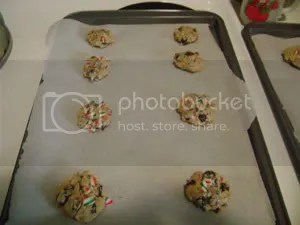 Cookies ready for the baking