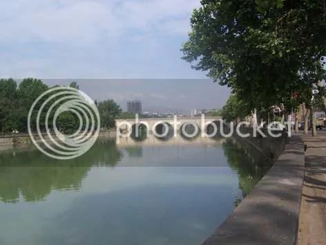 Tbilisi. Lake Kur
