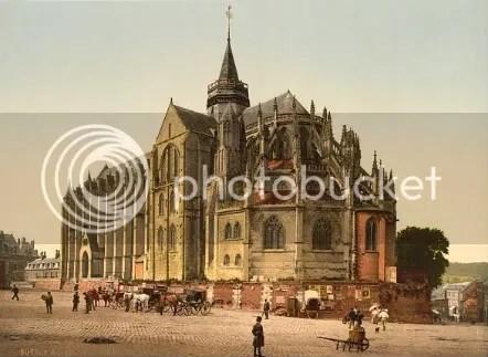 La iglesia de Eu, al norte de Francia