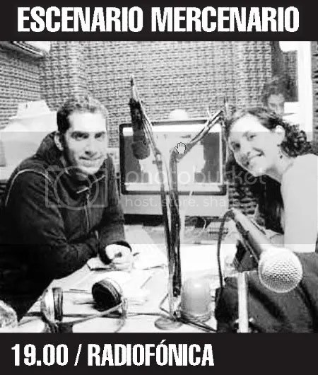 MERCENARIOS. Juan y Matilde. Atrás está Mike Wazowsky.