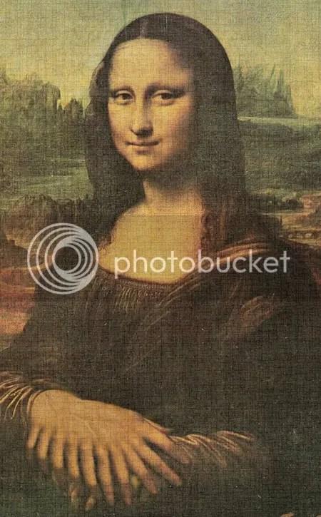 Escalofriante cruce entre la Mona Lisa y El Eternauta!