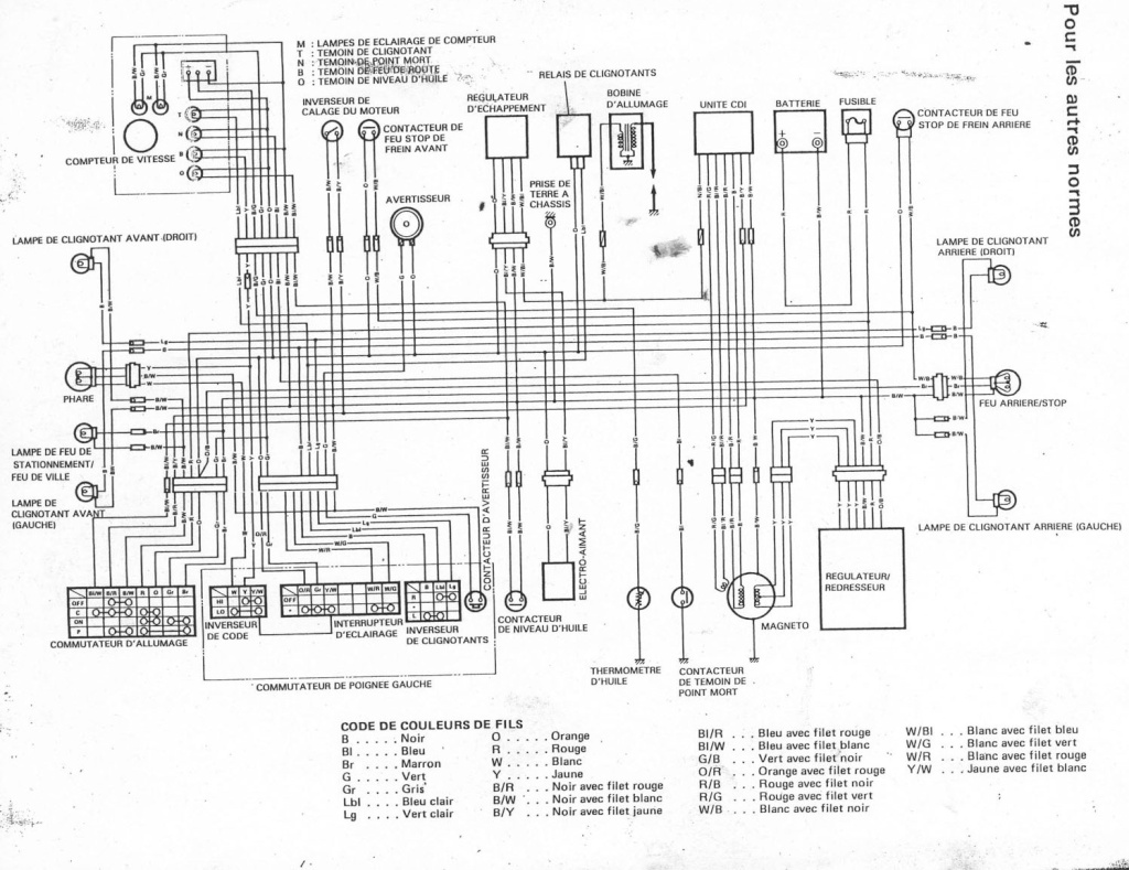 Sr125 Wiring Diagram