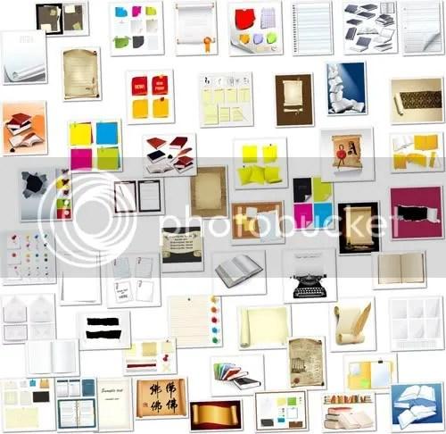 Office Paper Vectors