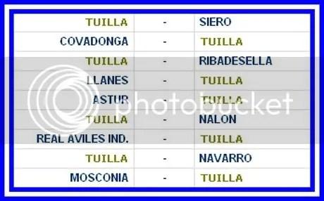 CALENDARIO C.D.TUILLA