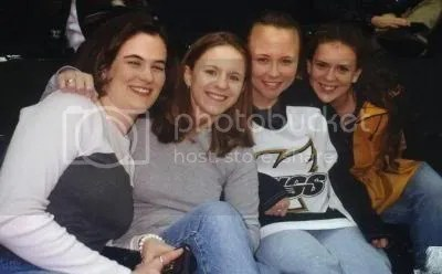 Leslie, Lydia, me and Robin, Houston 1999