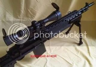 Jual Airsoft seken/bekas M14 EBR