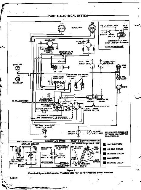 ford 4000 wiring schematic  wiring diagram operation learn