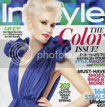 Gwen Stefani,InStyle,The Greyest Ghost