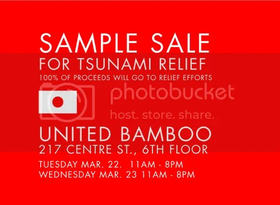 Japan,Tsunami Relief,United Bamboo,The Greyest Ghost