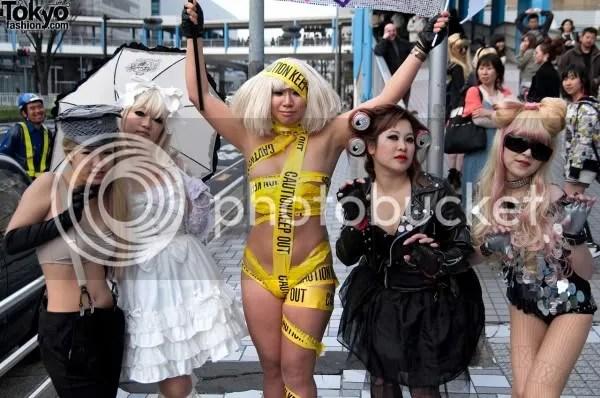 Lady Gaga,Tokyo,Japan,Tokyofashion.com,The Greyest Ghost