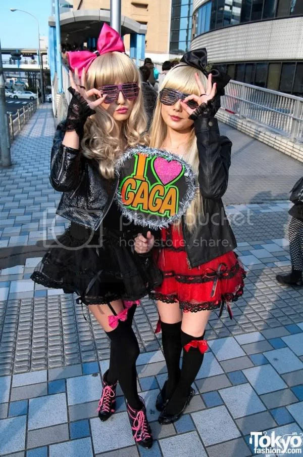 Lady Gaga,Tokyo,Japan,Tokyofashion.com,The Greyest Ghost