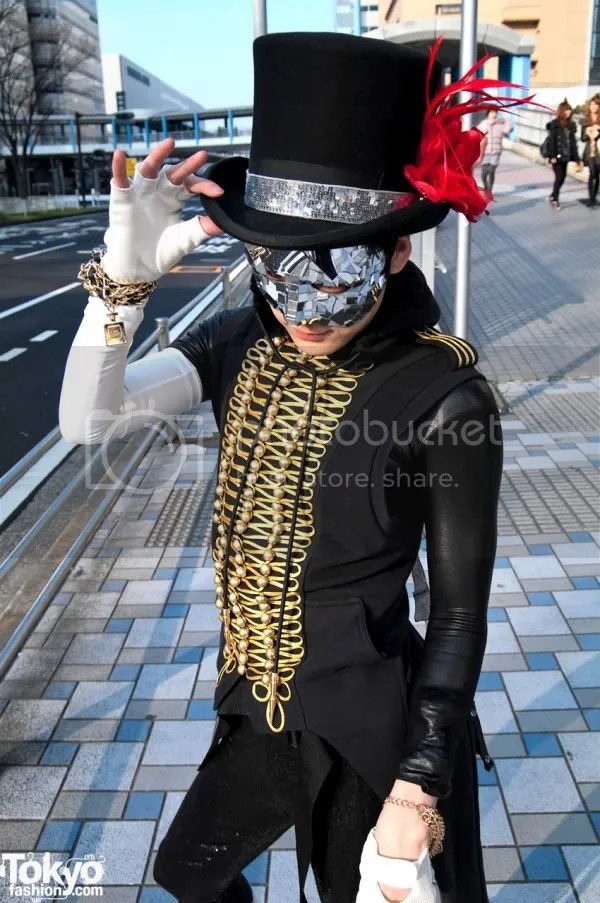 Lady Gaga,Japan,Tokyofashion.com,The Greyest Ghost