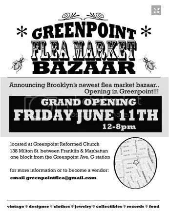 Greenpoint Flea Market,The Greyest Ghost