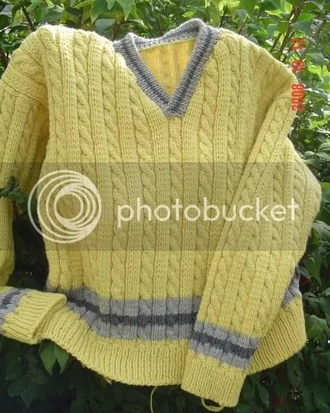Cricket pullover
