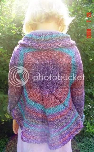 pinwheel sweater