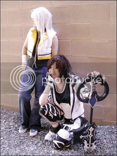 Sora and Riku - Kingdom Hearts II