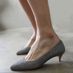 Buy shoes that have a heel