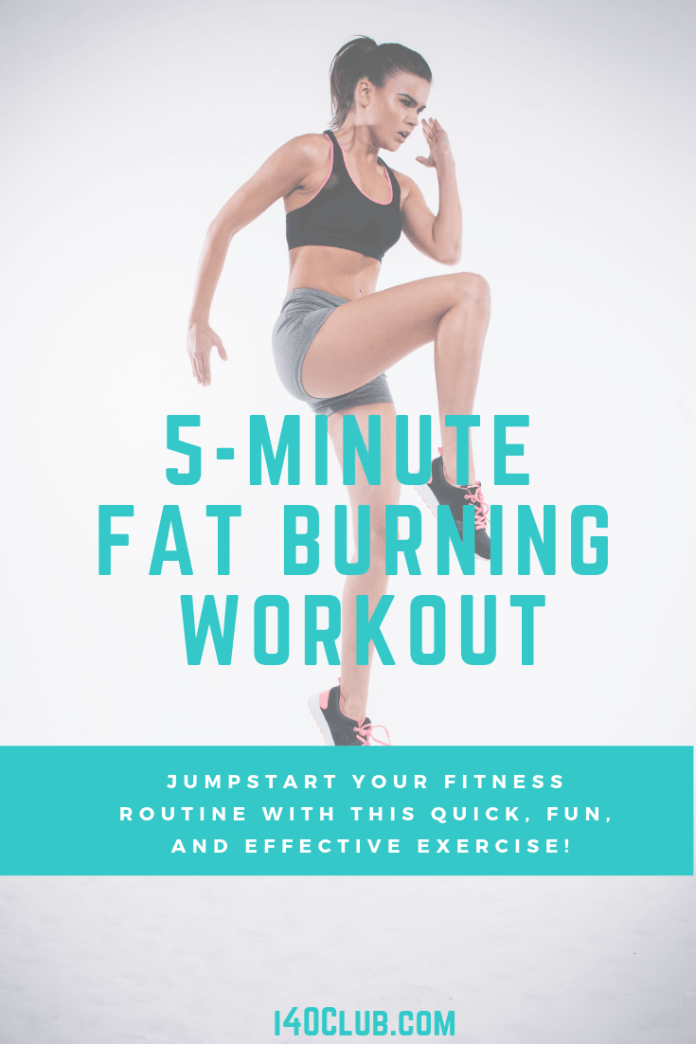 5 Minute Fat Burning Workout