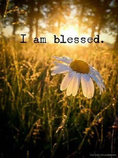 I am blessed Quote