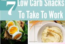Top 7 Low Carb Snacks For Work