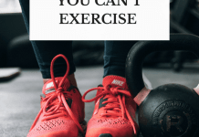 How to Lose Weight When You Can't Exercise