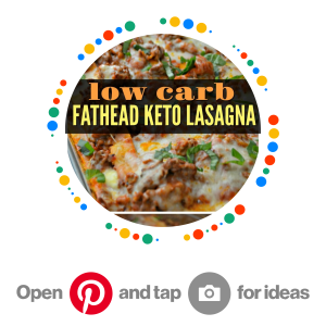 Low Carb Goodness on Pinterest