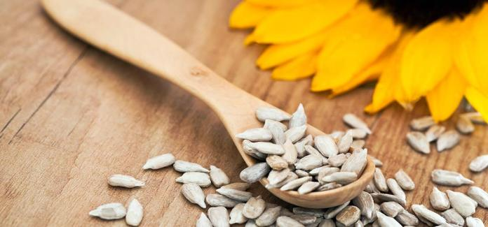 Sunflower seeds for perfect skin