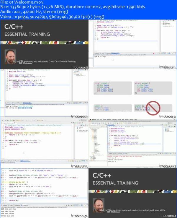 [Lynda.com] C/C++ Essential Training [2012, ENG]