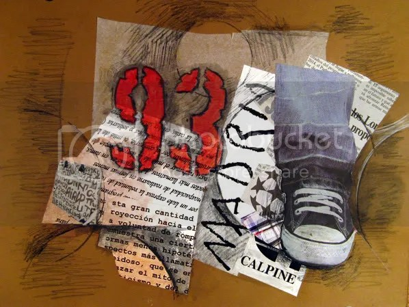 all star generation mixed media collage by Emanuel Ologeano