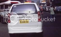 Toyota Avanza Taxi in CDO