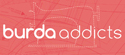 logo blog burda addics couture communauté sewing