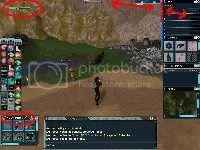 Our new custom HUD GUI using classic AO, click for larger view.