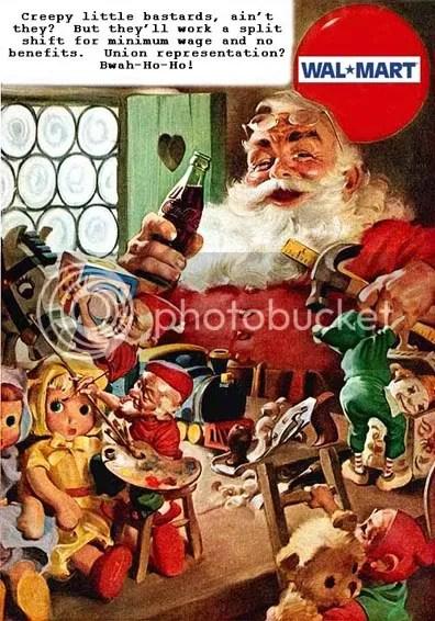 Satanic Walmart Santa
