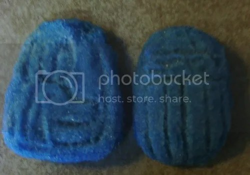 Jackal and Scarab Faience Amulets