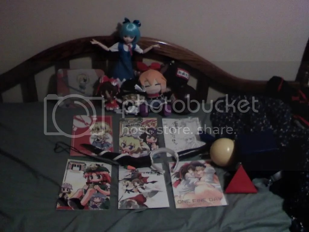 Cirno with all of Tai's Touhou stuff.