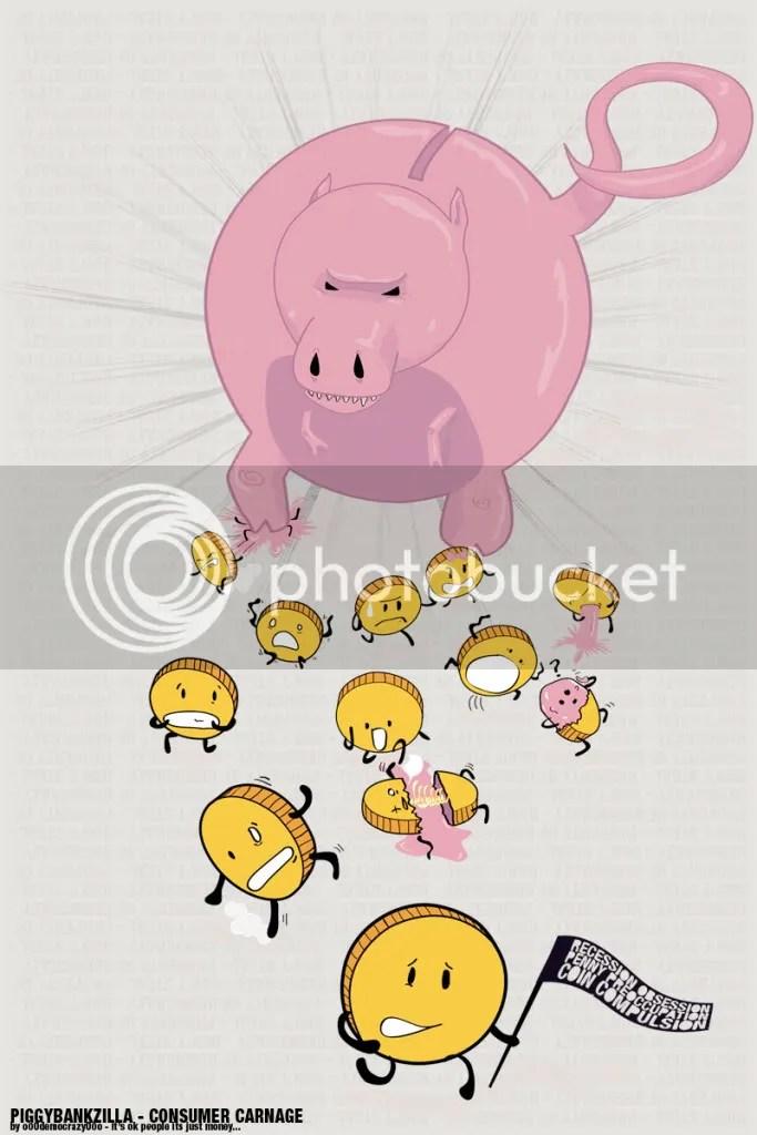 Piggy Bankzilla